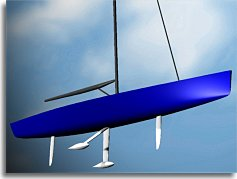 CAD rendering of 100 footer